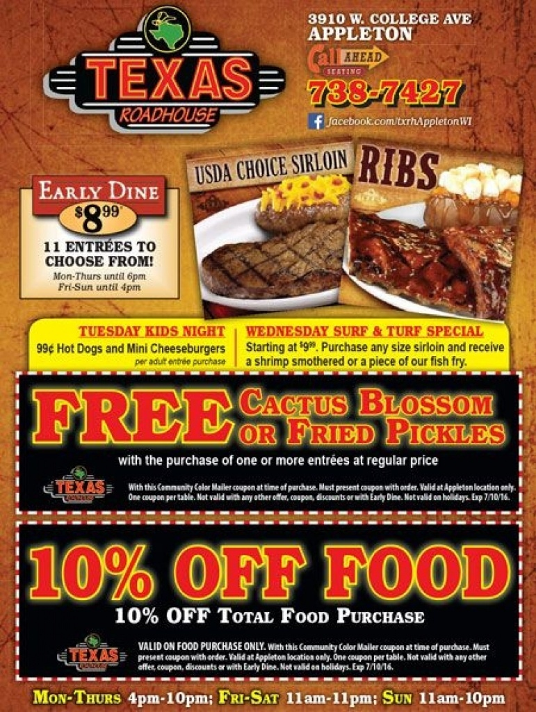 Printable Texas Roadhouse Coupons - Video Dailymotion - Texas - Texas Roadhouse Free Appetizer Printable Coupon 2015