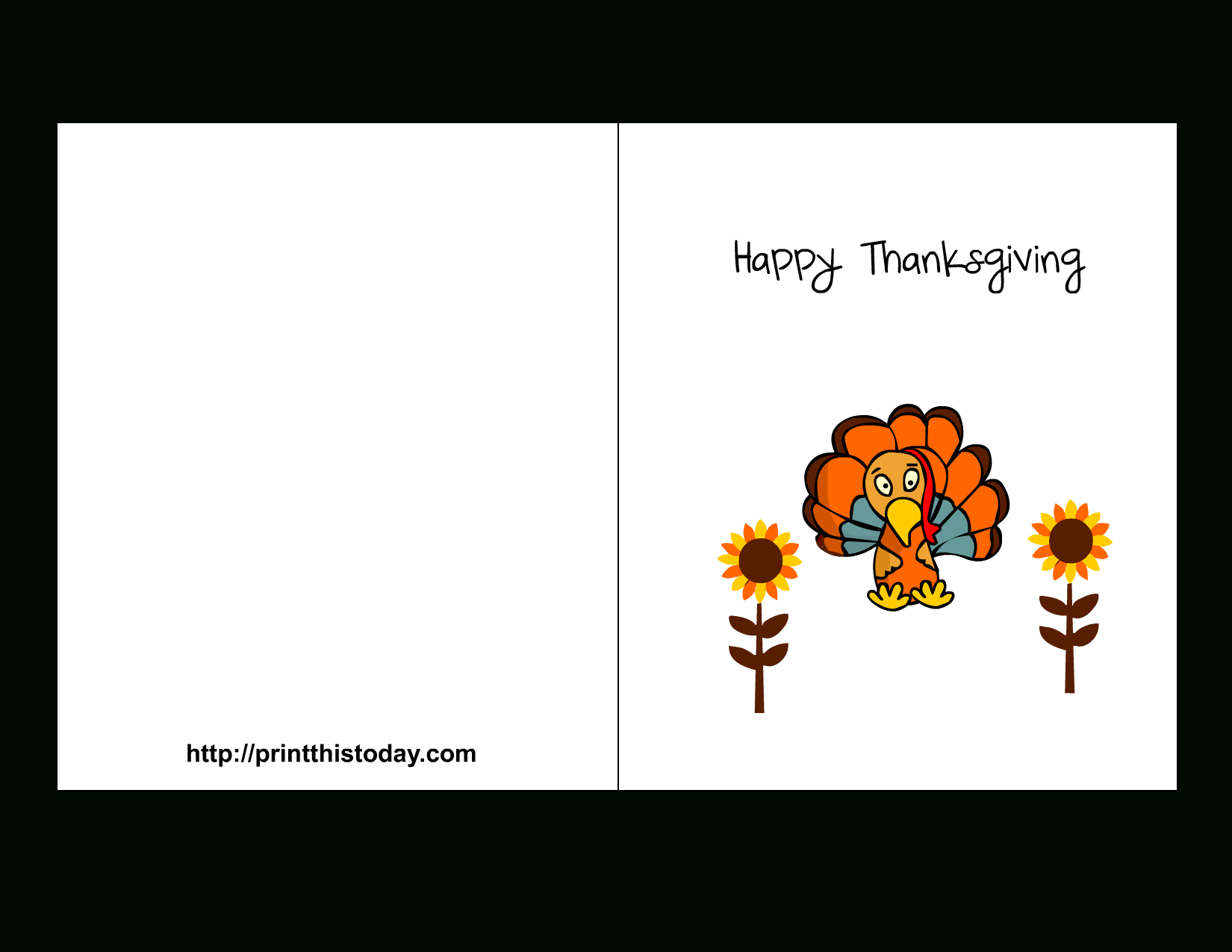 Printable Thanksgiving Cards - Printable Cards - Free Printable Thanksgiving Cards
