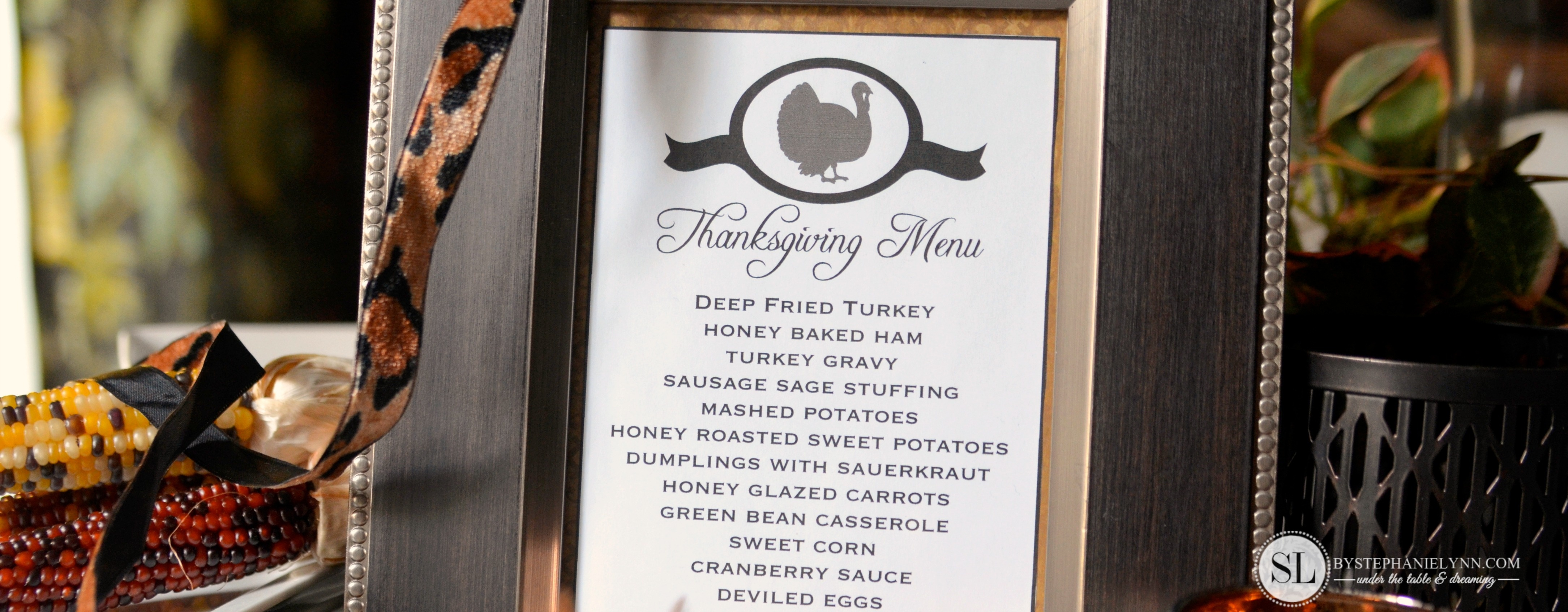 Printable Thanksgiving Menu Template | Making Printables With The - Free Printable Thanksgiving Menu Template