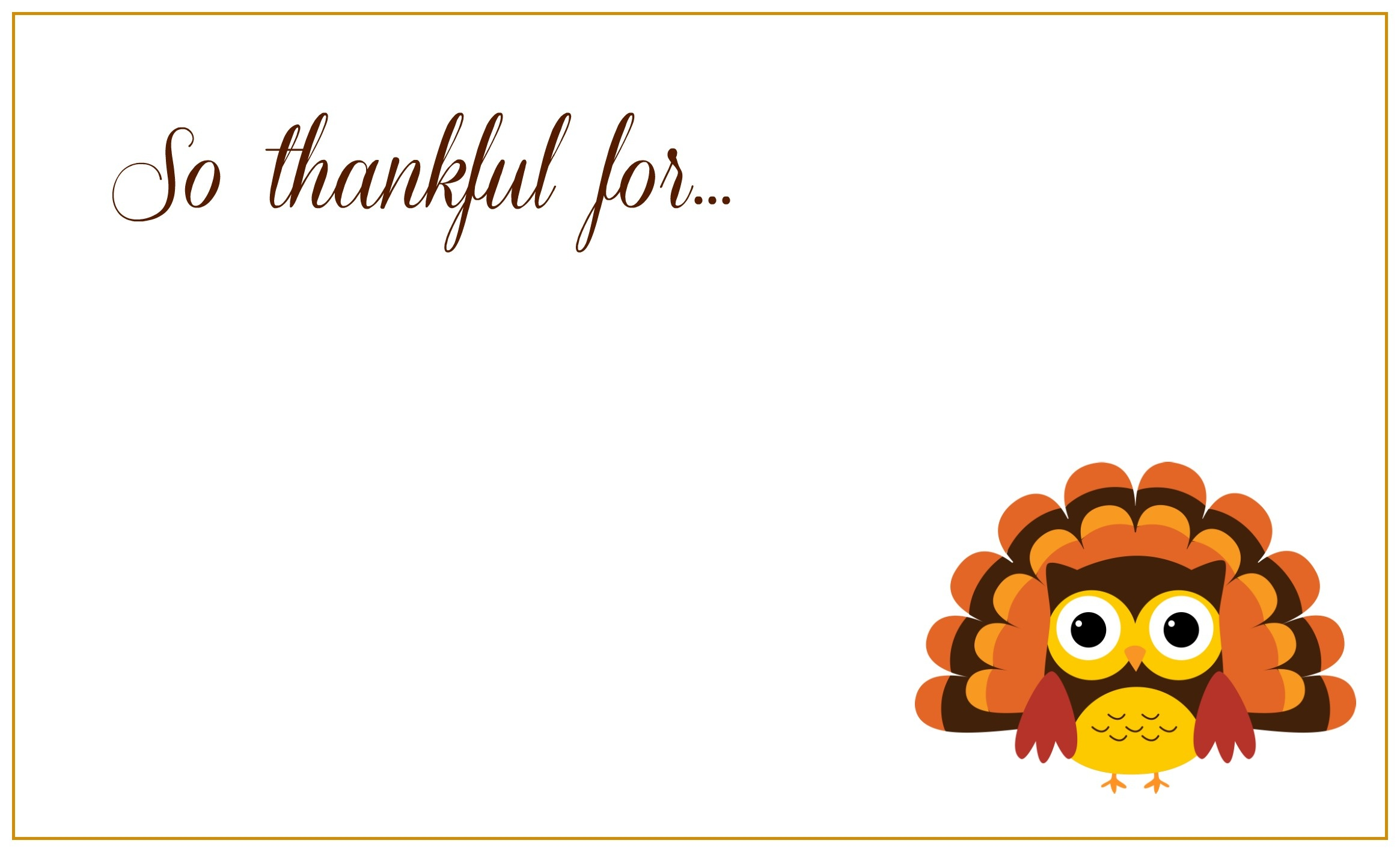 Printable Thanksgiving Placecards ~ Creative Market Blog - Free Printable Thanksgiving Graphics