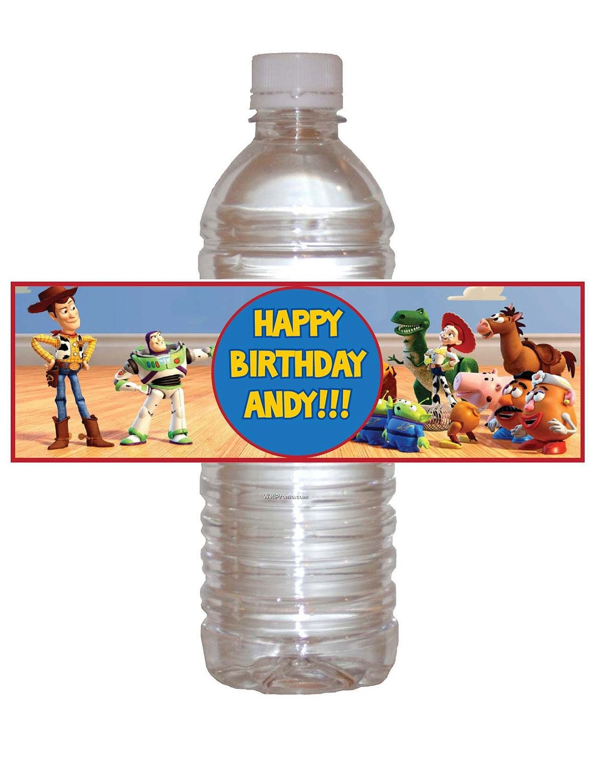 Printable Toy Story Bottle Water Wrappers Diykidspartiesrock - Free Printable Toy Story Water Bottle Labels