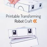 Printable Transforming Robot Craft | Printables | Crafts For Kids   Free Printable Craft Activities