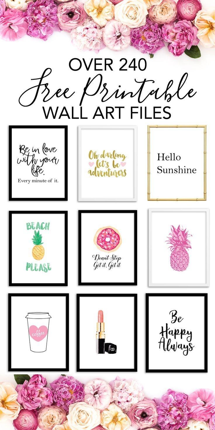 Printable Wall Art - Print Wall Decor And Poster Prints For Your - Free Printable Wall Decor