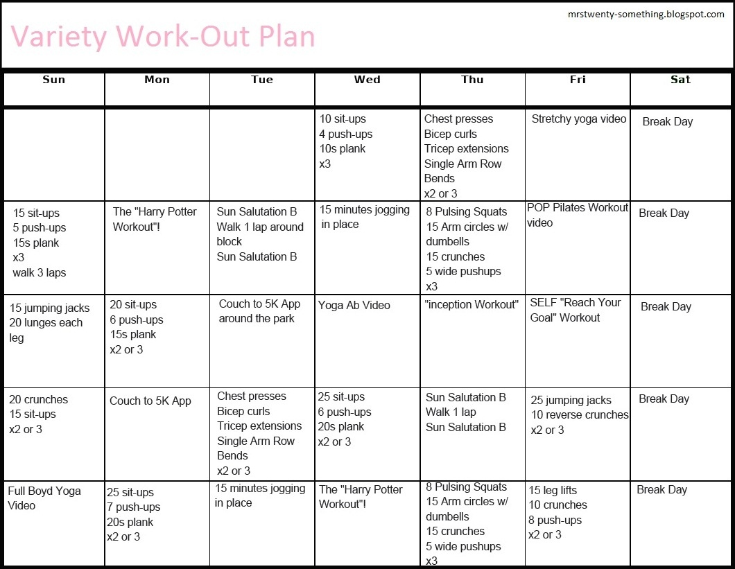 Printable Workout Plans For Men | Hauck Mansion - Free Printable Gym Workout Routines