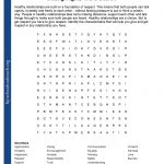 Printable Worksheets   Free Printable Word Searches For Middle School Students