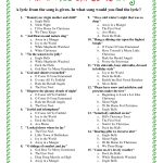 Printable+Christmas+Song+Trivia | Christmas | Christmas Trivia   Christmas Song Lyrics Game Free Printable