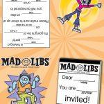 Printables – Mad Libs   Free Printable Mad Libs