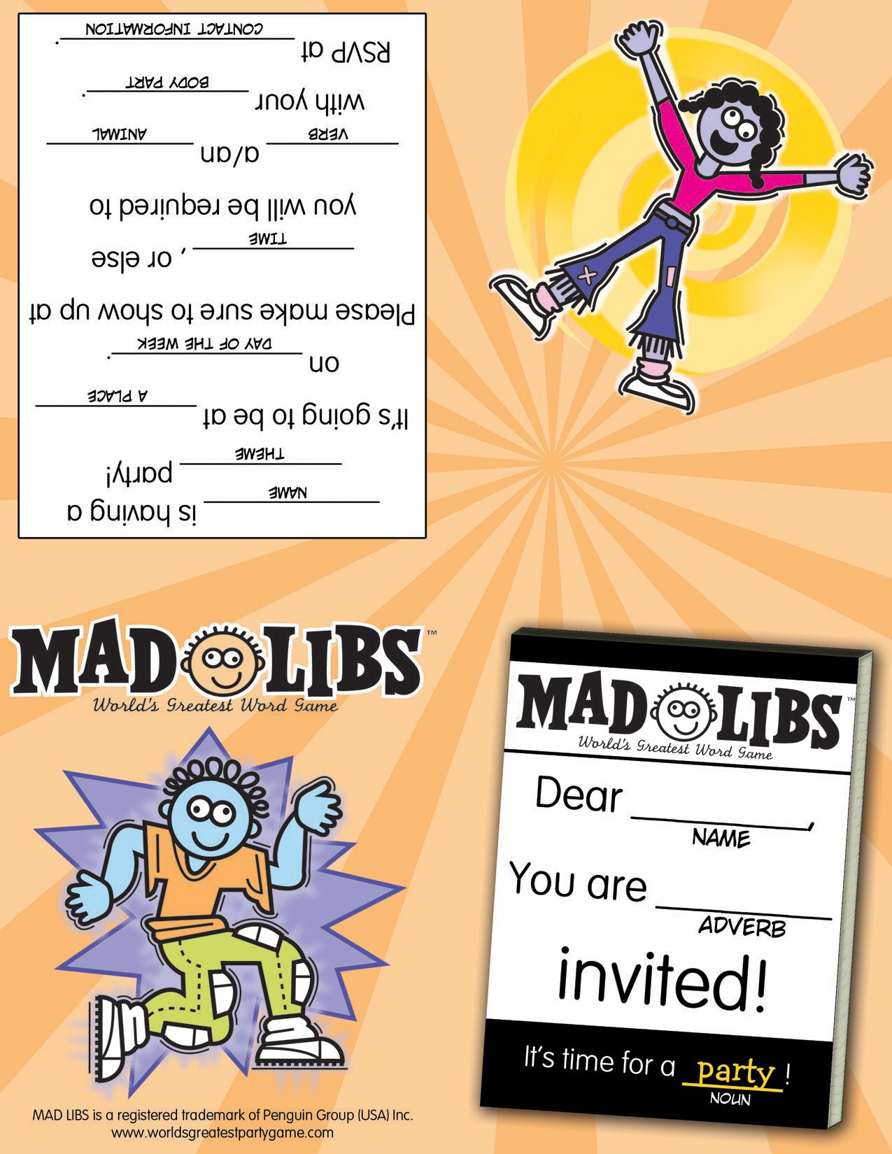 Printables – Mad Libs - Free Printable Mad Libs