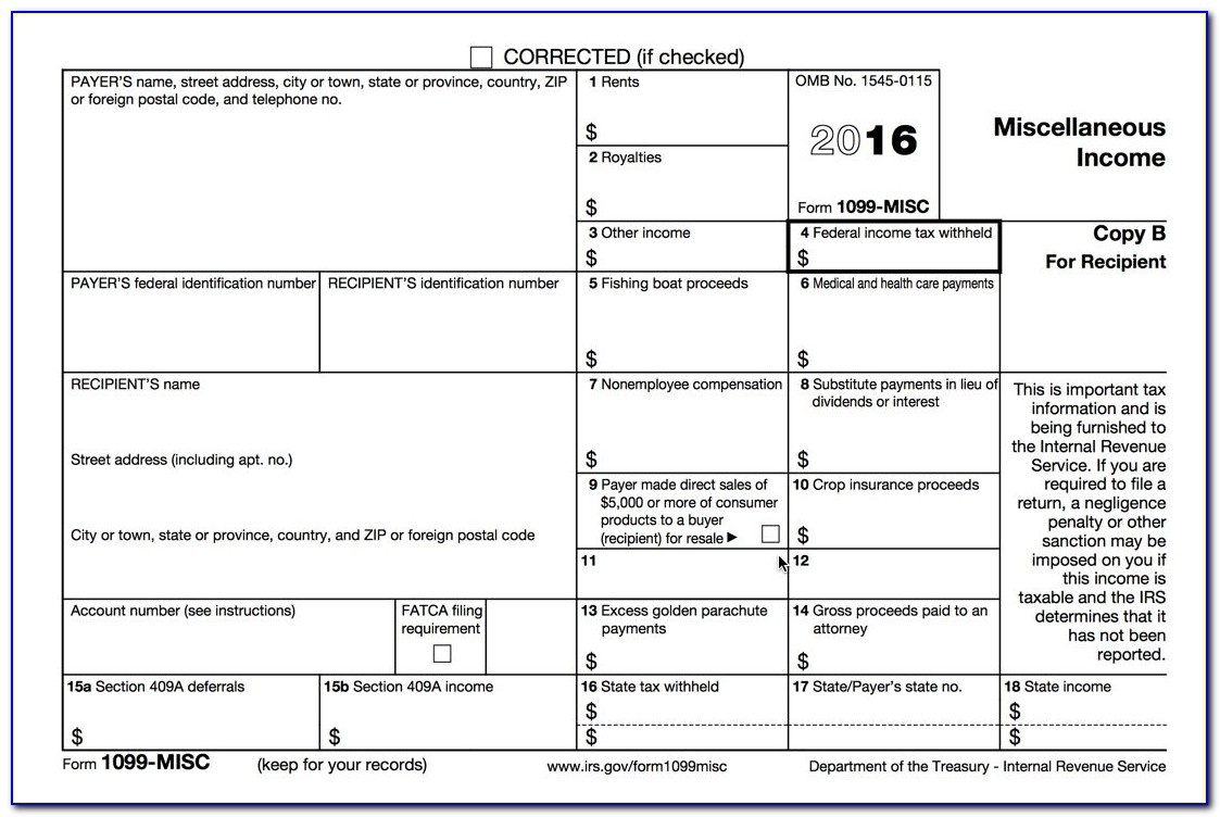 Process 1099 Misc Forms – Buildium Help Center Within Printable 1099 - Free Printable 1099 Form