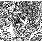 Psychedelic Coloring Pages   Psychedelic Coloring Pages For Adults   Free Printable Trippy Coloring Pages