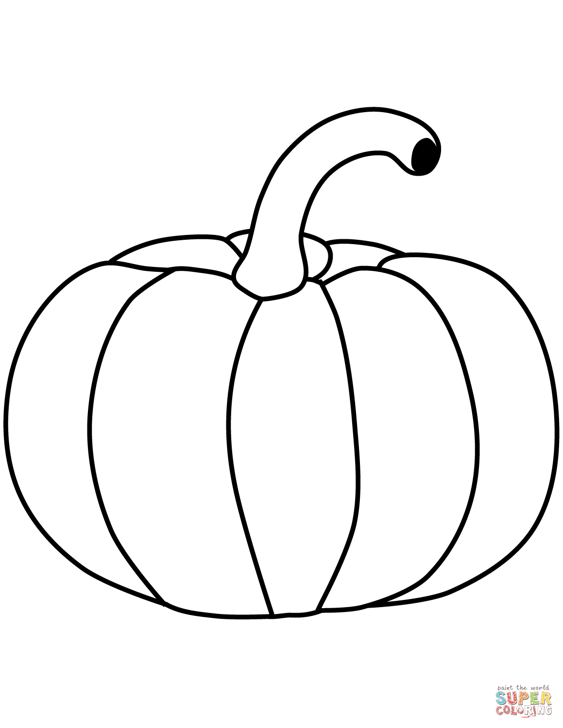 Pumpkins Coloring Pages | Free Coloring Pages - Free Printable Pumpkin Books