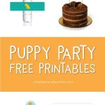 Puppy Party Theme Free Printable Pack | *all Free Printables From   Free Printable Puppy Dog Birthday Invitations