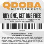 Qdoba Online Coupons | Printable Coupons Online   Bogo Free Coupons Printable
