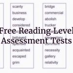 Reading Level Tests For Calculating Grade, Competency, & Level   Free Printable Diagnostic Reading Assessments