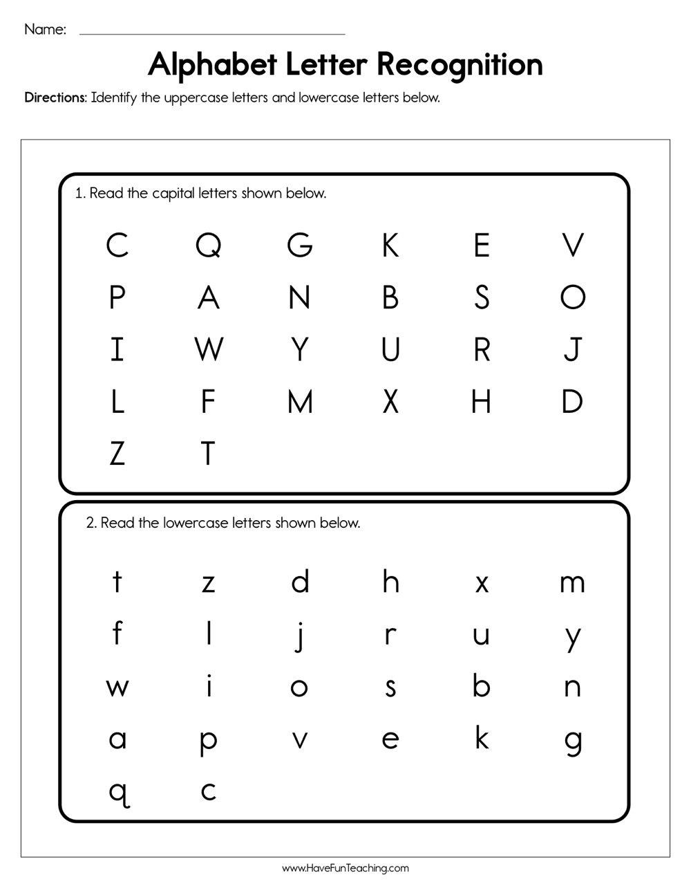 Resources | Phonics | Worksheets - Free Printable Phonics Assessments