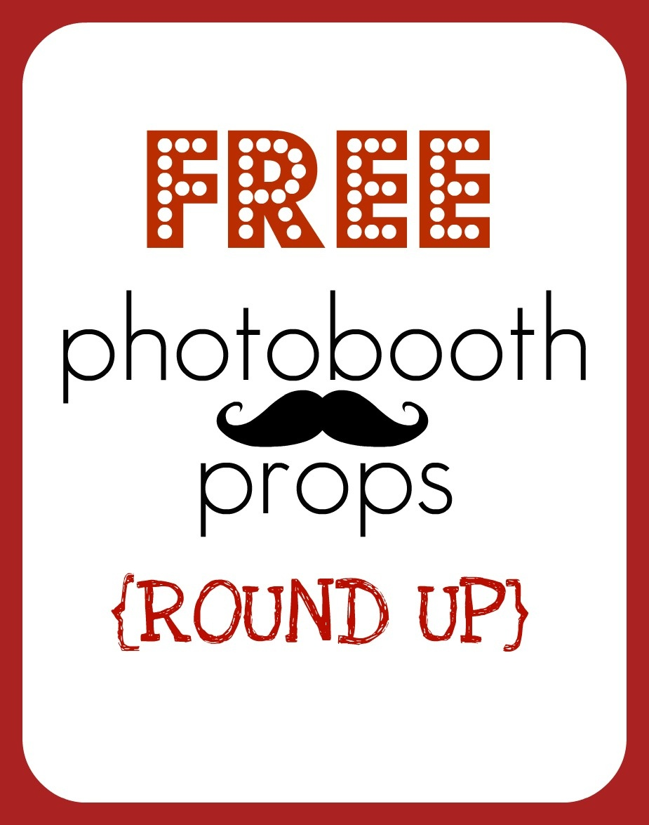 Round Up} Free Printable Photobooth Props - Creative Juice - Free Printable Photo Booth Props Template