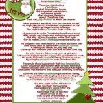 Santa And Christ …poem And A Christmas Tradition   Christmas Ideas   Free Printable Christian Christmas Poems