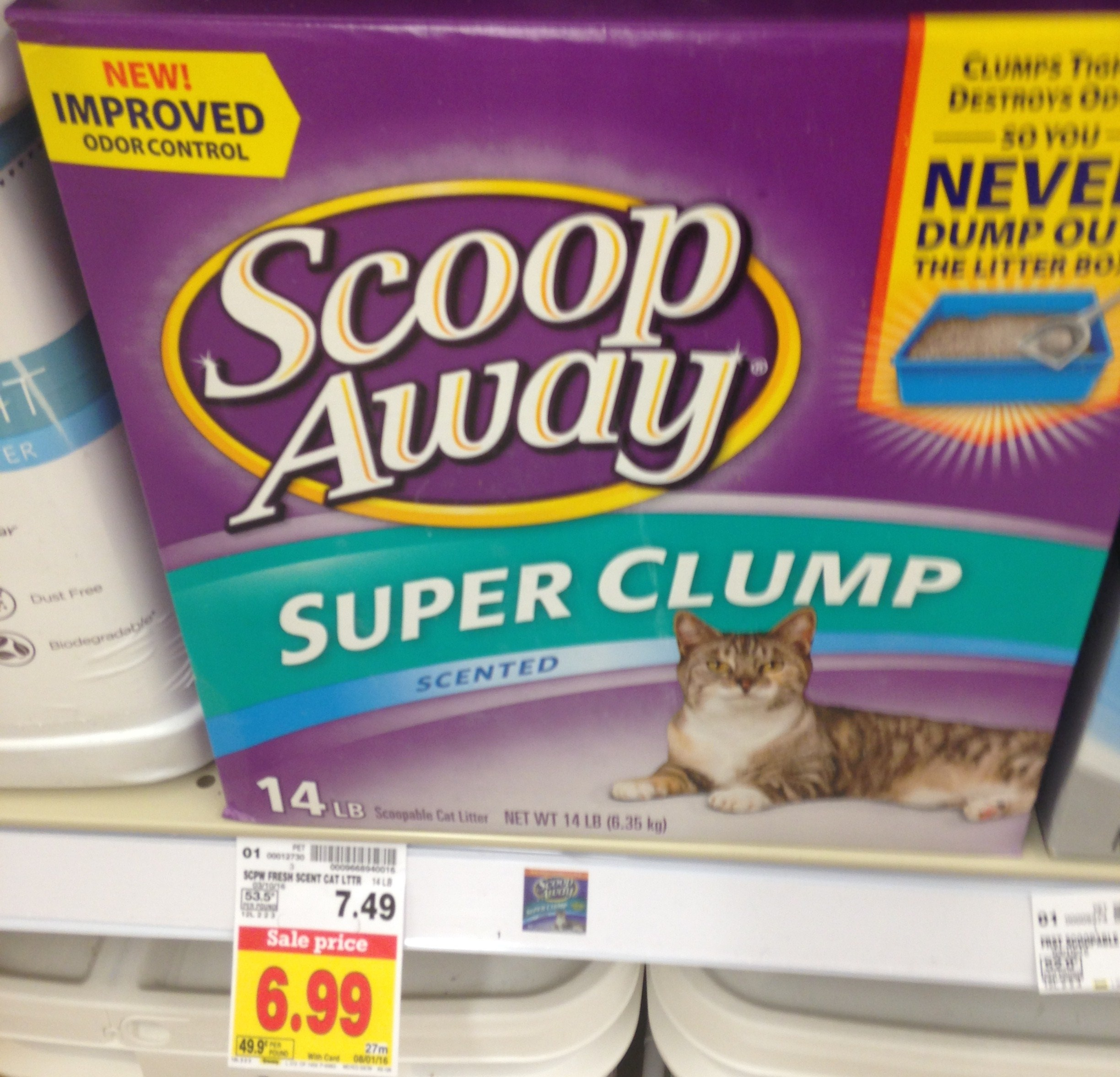 Scoop Away Clumping Cat Litter, Only $4.99 At King Soopers - Free Printable Scoop Away Coupons