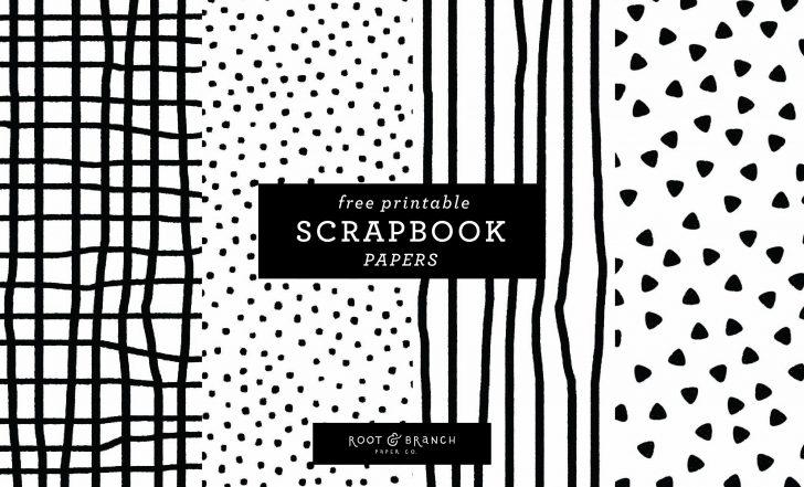 Free Printable Scrapbook Paper