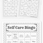 Self Care Bingo So Excited To Roll This Out To My Staff!!! #teachers   Free Printable Self Esteem Bingo