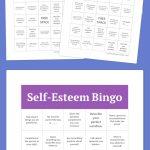 Self Esteem Bingo | Group Ideas | Free Bingo Cards, Free Printable   Free Printable Self Esteem Bingo