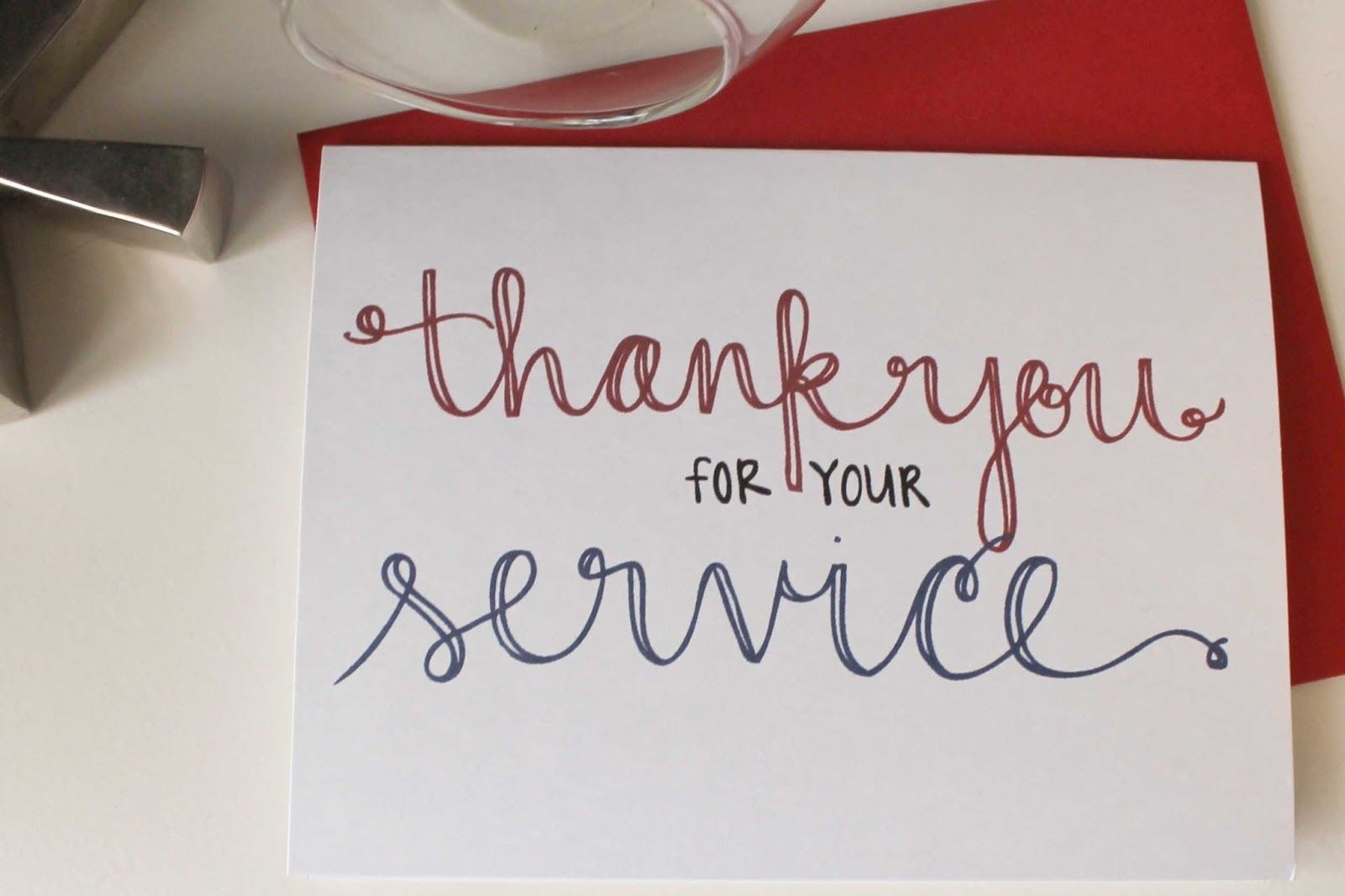 Send A Thank You Card To Our Troops | School | Veterans Day Gifts - Military Thank You Cards Free Printable