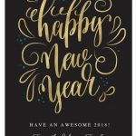 Send Warm Wishes With These Free New Year Cards | Happy New Years   Free Printable Happy New Year Cards