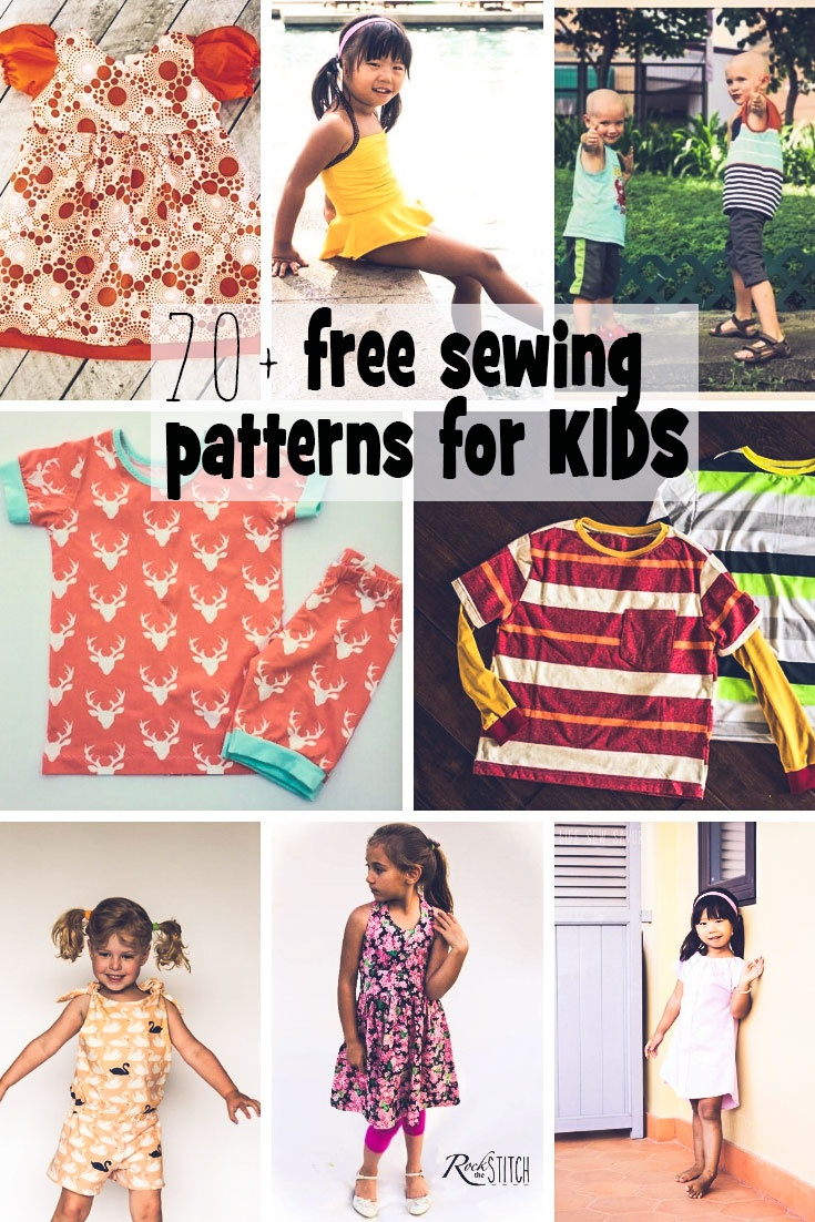 Sewing Patterns For Kids - Free For Summer - Life Sew Savory - Free Printable Sewing Patterns For Kids
