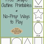 Shape Activities For Toddlers (Printable) | Kid Blogger Network   Free Printable Early Childhood Activities