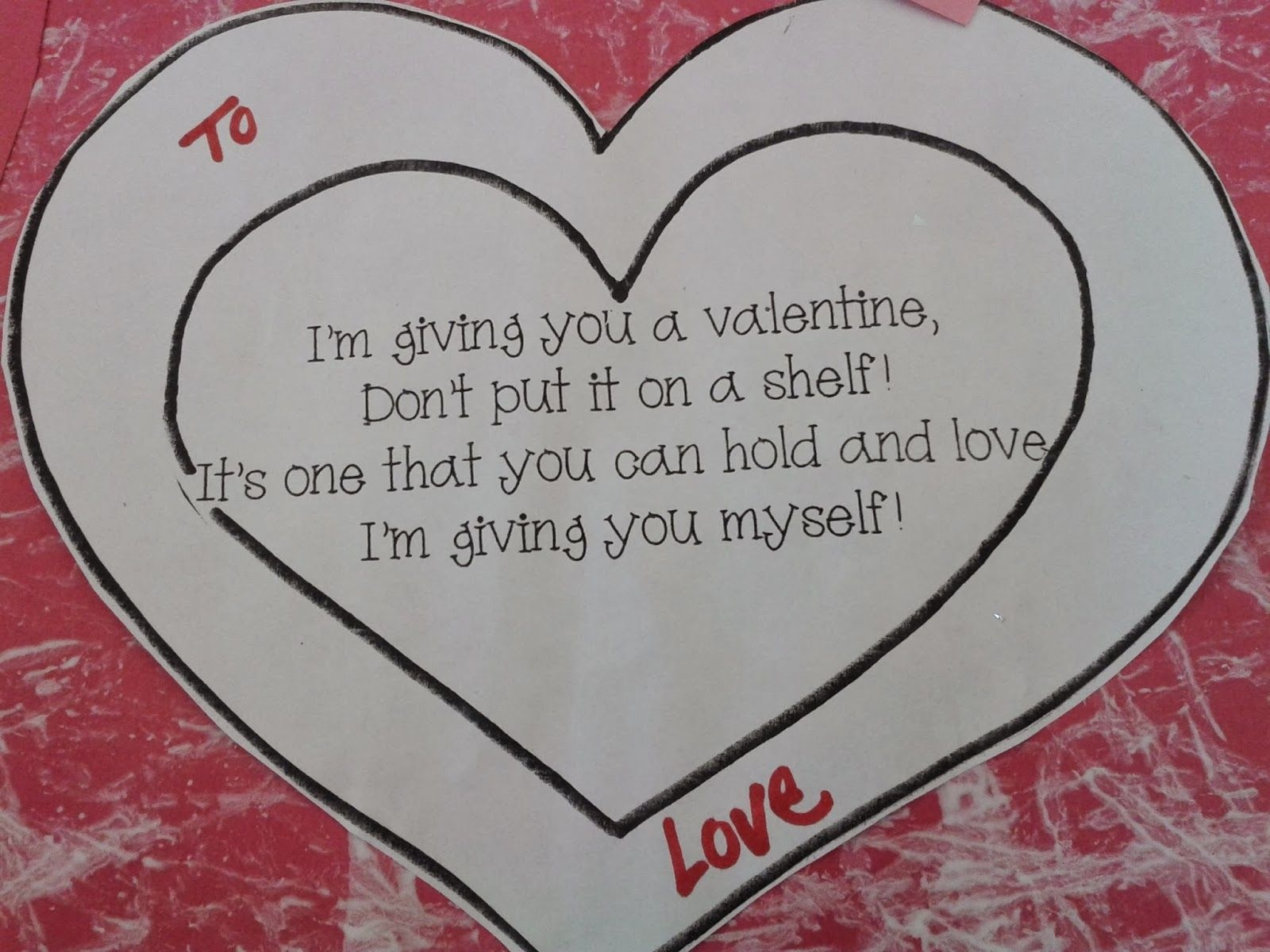 Show The Love! Valentine's Day Cards For Parents   Preschool - Free Printable Valentines Day Cards For Parents