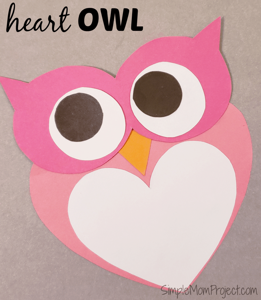Simple Handmade Valentine's Day Owl Card With Free Printable - Free Printable Owl Valentine Cards