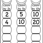 Skip Counting2, 5 And 10 – Worksheet / Free Printable Worksheets   Free Printable Skip Counting Worksheets
