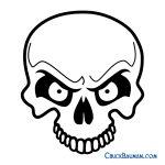 Skulls Airbrushing   Free Skull Airbrushing Stencils   Free   Free Printable Airbrush Stencils