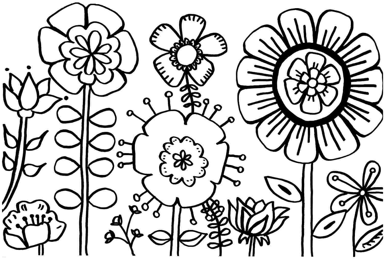 Spring Coloring Pages Free Coloring Pages Free Printable Spring - Free Printable Spring Pictures To Color