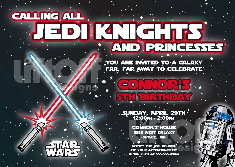 Star Wars Invitations Free Printable | Star Wars | Star Wars - Star Wars Invitations Free Printable