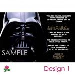 Star Wars Party Invitations Free Printable 5 | Enrique | Star Wars   Star Wars Invitations Free Printable