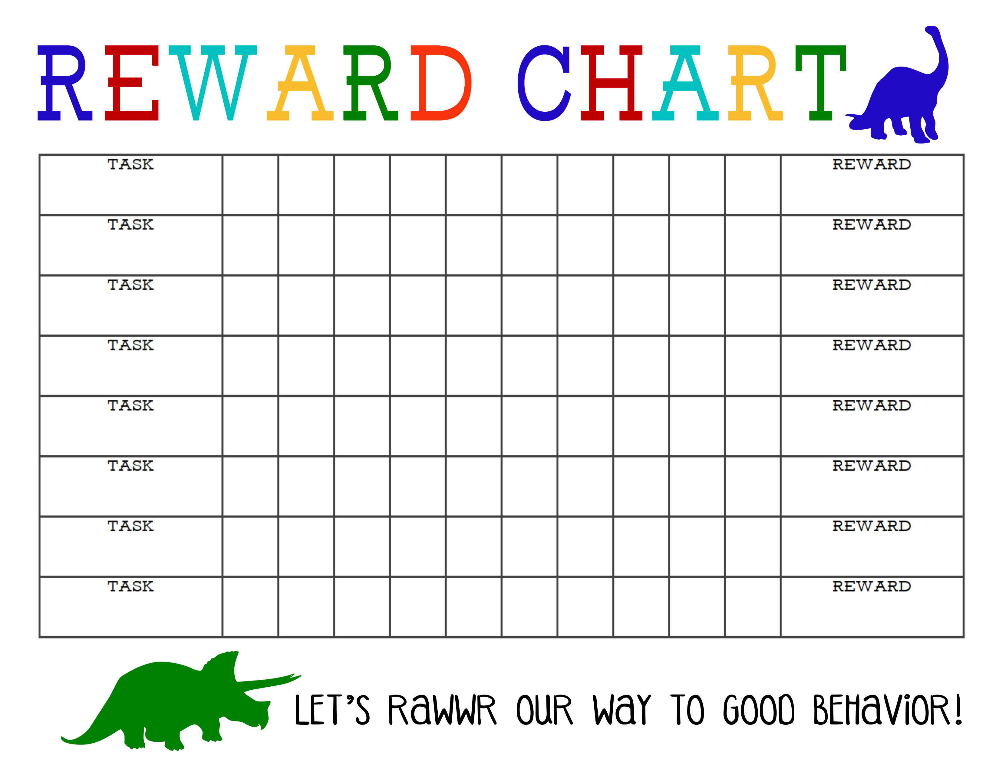 Sticker Chart Printable - Tutlin.psstech.co - Free Printable Behavior Charts For Elementary Students