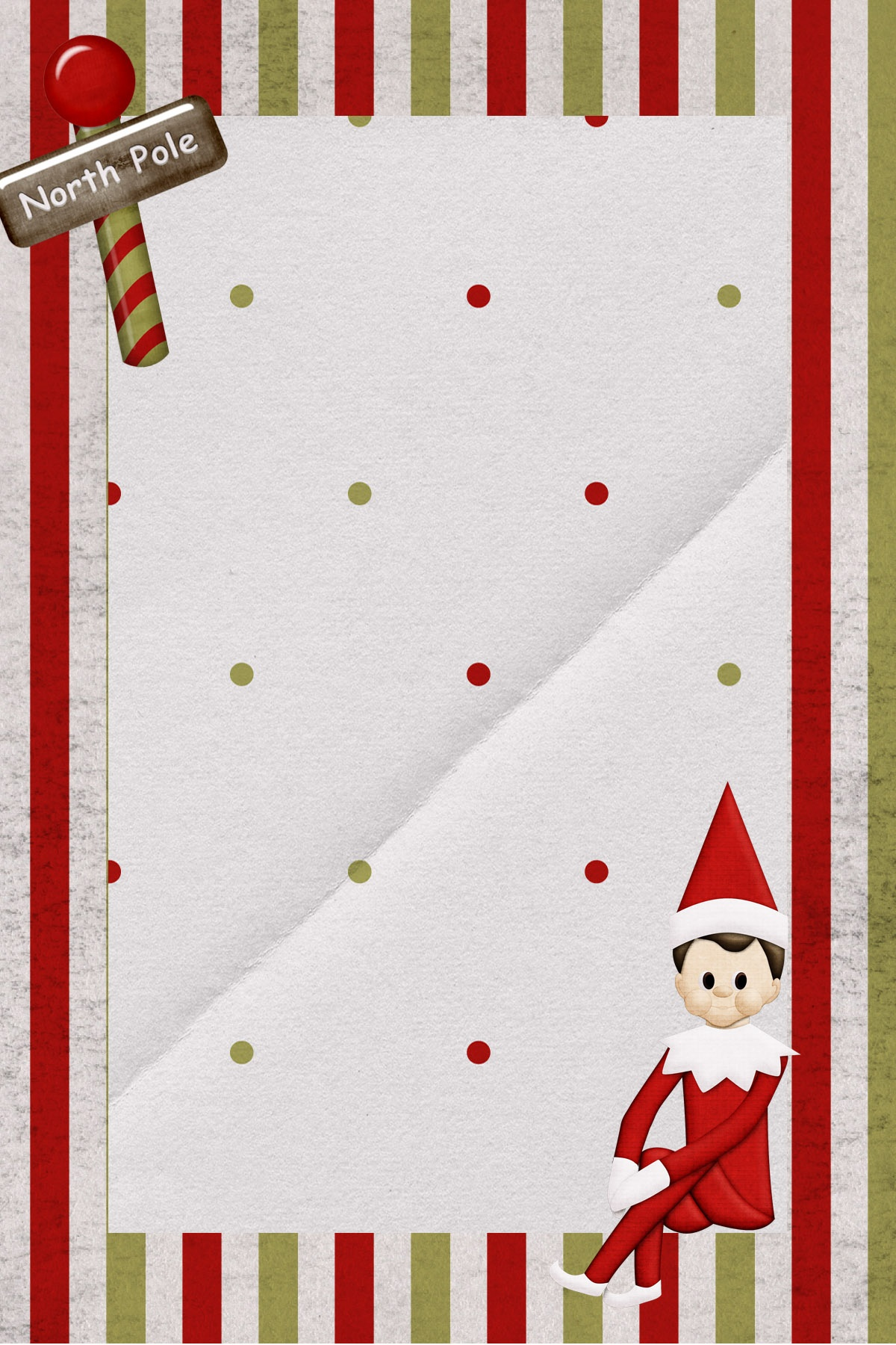 Super Cute Free Downloadable Elf On The Shelf Note. Customize - Free Printable Elf Stationery