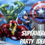 Superhero Birthday Party Ideas {With Free Printables!} | Life   Avengers Party Invitations Printable Free