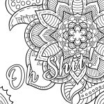 Swear Word Coloring Book #2 Free Printable Coloring Pages For Adults   Free Printable Swear Word Coloring Pages