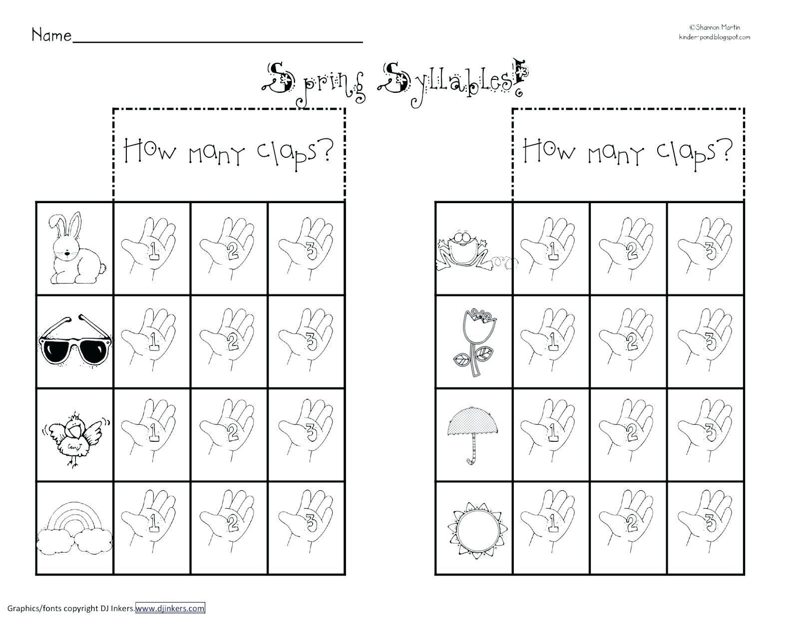 Syllable Worksheets 2Nd Grade Open And Closed Syllables Worksheets - Free Printable Open And Closed Syllable Worksheets