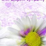 Sympathy #card Free Printable With Deepest Sympathy Greeting Card   Free Printable Sympathy Verses