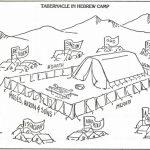 Tabernacle Coloring Page Free | Wonder Kids   Week 5: Ten   Free Printable Pictures Of The Tabernacle