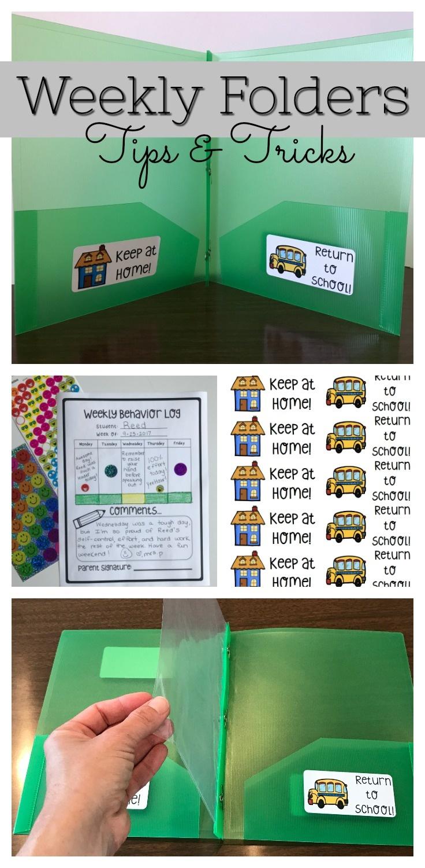 Take Home Folders: Part 1 | Thehappyteacher - Free Printable Take Home Folder Labels