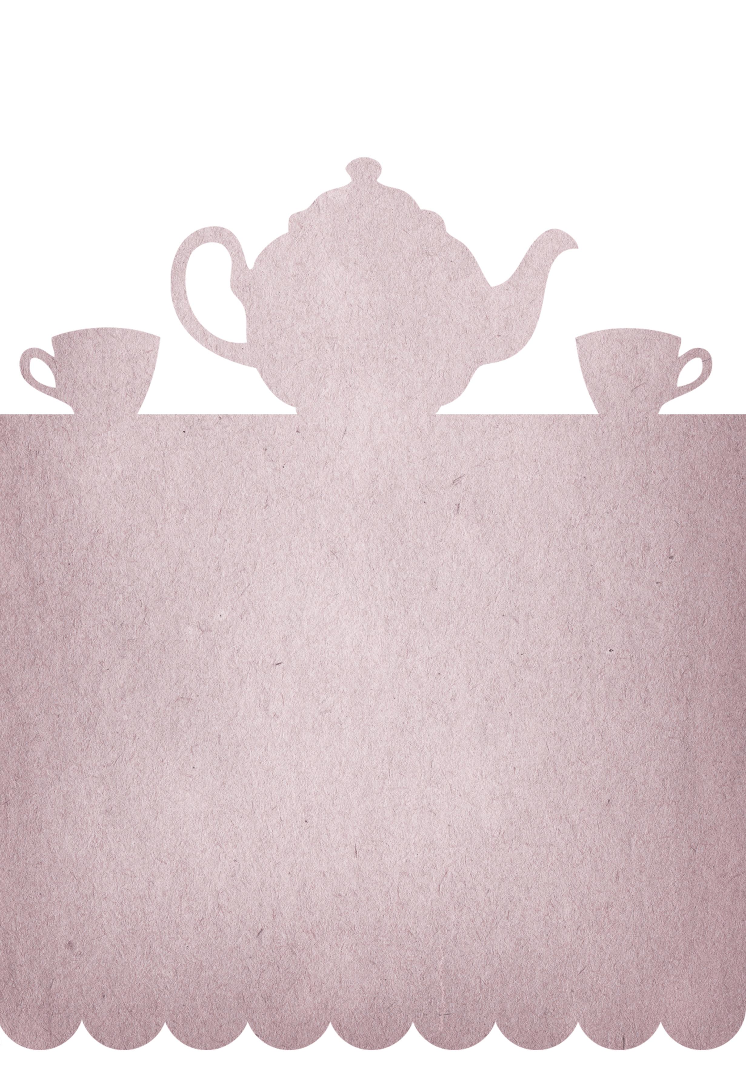 Tea Party - Free Printable Party Invitation Template | Greetings - Free Printable Kitchen Tea Invitation Templates