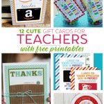 Teacher Gift Card Ideas & Gift Card Holder Printables   Fabulessly   Free Teacher Appreciation Week Printable Cards