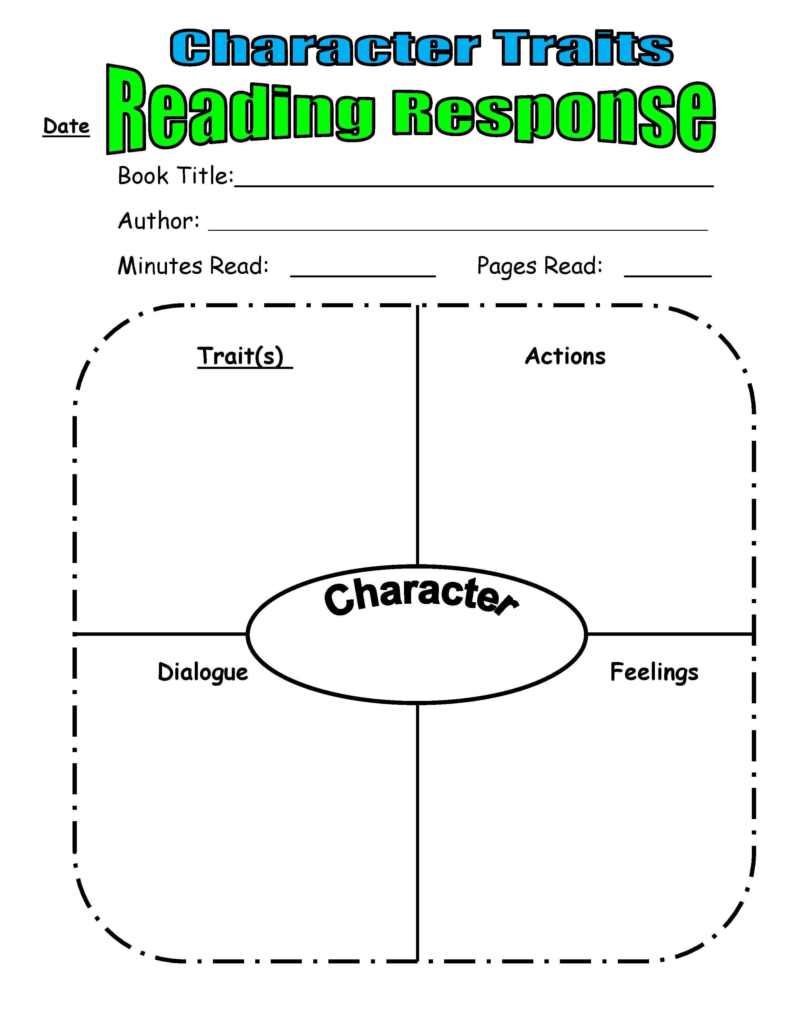 Teaching Character Traits In Reader's Workshop | Scholastic - Free Printable Character Map