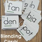 Teaching Students To Blend Words   Make Take & Teach   Free Printable Blending Cards