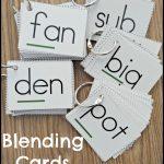 Teaching Students To Blend Words   Make Take & Teach   Free Printable Blending Cards