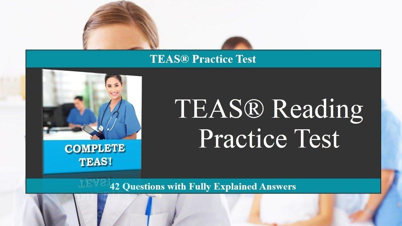 Teas Reading Practice Test - Youtube - Free Printable Teas Study Guide